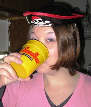 Stacy Snyder Drunken Pirate